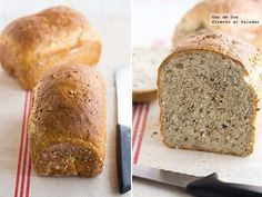 Spelt Bread, Pan Bread, Thermomix Bread, Rustic Bread, Food N, Sin Gluten, Food For Thought, Bread Recipes, Tapas