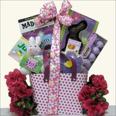 Girls teen easter basket and a few other basket ideas via cool chick easter gift basket tween girls ages ages 10 to 13 years old by negle Gallery