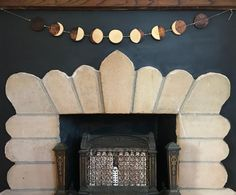 #fireplace #moon #art #handmade #handmadewithlove #crafts