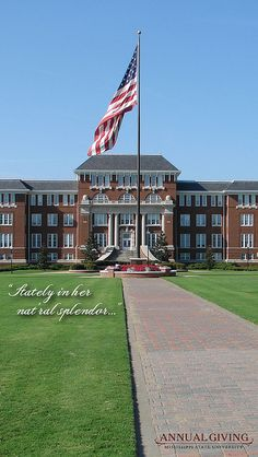 #Mississippi State University.  #HailState