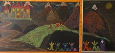 Waldorf ~ 2nd grade ~ Math ~ Place Value ~ chalkboard drawing