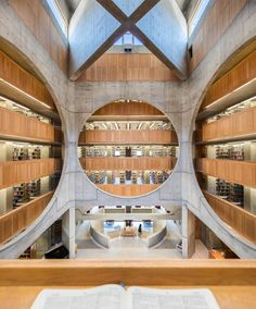 Phillips Exeter Academy Library by Louis Kahn, Exeter, New Hampshire, 1965