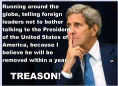 With sleazy people like this POS, I believe treason has reared his ugly head.