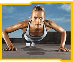 push-ups- I can do about 30 push-ups without stopping.