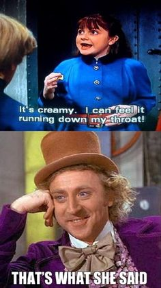 Hee Hee!! I Love Charlie and the Chocolate Factory-orginal version only!