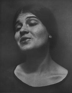 Tina Reciting by Edward Weston 1924