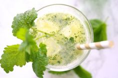 Pineapple and mint are paired with sparkling water for a refreshing summer beverage. Ready in 5 minutes with just 4 ingredients.
