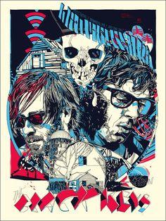The Black Keys. Love this print
