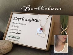 Stepdaughter Gift New Wedding Marriage Made You Family Love My Daughter From Step Mom To