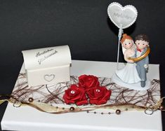 Money Gift to Silver Wedding-Car Artificial Stone, Foam Roses, You Are Invited, Just Giving, Newlyweds, Heart Shapes, Wedding Gifts, Congratulations, Envelope