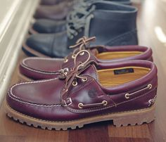 403bce6608 MarkMaker Sean Sullivan s collection of Timberland shoes.  fashion   boatshoes  mensshoes  markmakers