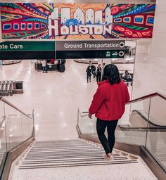 IAH Airport Houston Murals, Ground Transportation, Wall Art, Instagram, Wall Decor