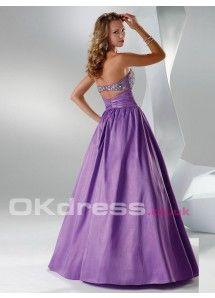 Taffeta Bow Tie Ball Gown Sleeveless 2014 Quinceanera Formal  Dresses