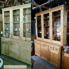 Schöpfung... vorher-nachher Ein wunderschöner Jugendstil Schrank mit einer Grazie oben Vitrine unten Schubladen und Türen. Auffallend schmal insgesamt sehr zierlich. Restauriert. Die Bilder zeigen die Verwandlung vor und nach der OberflächenBehandlung. #Jugendstil #Antiquitäten #jugendstilschrank #vitrine #Schubkasten #schubladen #restauriert #wohnartistin #antikschwarzwald #weichholz #möbelrestauration #Möbel #möbellager #antiqueshop #antique #titiseeneustadt #hinteraldi #blog