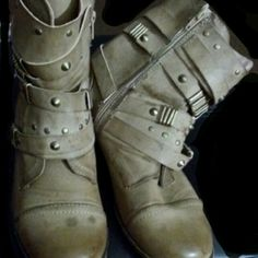 Nature Breeze Boots Nature Breeze Boots. They are New. That is the look to them. Nature Breeze Shoes Combat & Moto Boots