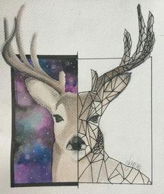Oh, deer! #artwork #painting #watercolor Artsy Fartsy, Deer, Watercolor, Artwork, Painting, Pen And Wash, Watercolor Painting, Work Of Art, Auguste Rodin Artwork