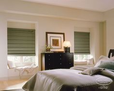 roman blinds for bedroom
