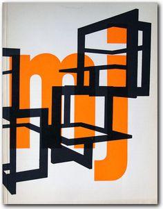 Museum Journaal, design Jurriaan Schrofer / 1966 and 1967