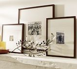Shop wood gallery frames from Pottery Barn. Our furniture, home decor and accessories collections feature wood gallery frames in quality materials and classic styles. Pottery Barn, Basement Paint Colors, Gallery Frames, Gallery Walls, 6 Photos, Family Photos, Pictures, Fireplace Mantle, Photo Displays