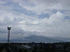 桜島 2012年7月20日 午前9時半
