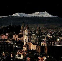 Nevado de Toluca de noche