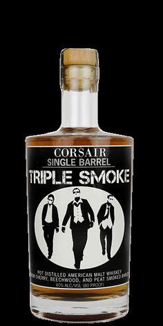 Discover Corsair Triple Smoke Single Barrel Bourbon at Flaviar