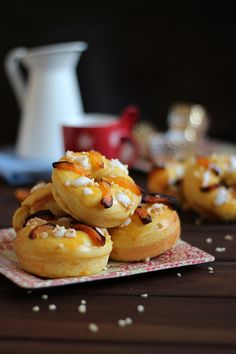 Mini roscones de Reyes
