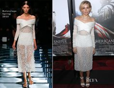 Sienna Miller In Balenciaga – 'American Sniper' New York Premiere