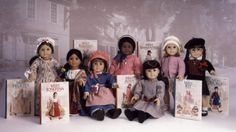 "Remember when the only American Girl dolls were Kiersten, Samantha, and Molly? (K & S are now ""retired"", btw.)"