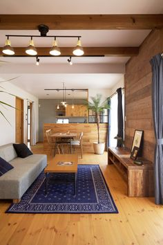 Japanese Interior, Modern Interior, Interior Design, Muji Home, House Plans Mansion, Kitchen Dinning Room, Style Japonais, Japanese House, Aesthetic Rooms
