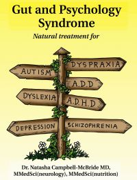 Gut & Psychology Syndrome. This is a very important book about the role of gut flora in autoimmune, chronic health issues and digestive problems. Probiotics and a low sugar diet can transform people's health and yet this is not common knowledge but I predict that it will be one day! You heard it here first.