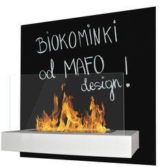 Biokominek z funkcją tablicy kredowej. Nadaje się do pisania po nim kredą. Designerski dodatek do domu czy mieszkania dostępny w dwóch wersjach kolorystycznych. Do kupienia na www.mafodesign-sklep.pl #biokominek #tablicakredowa #dekoracje #design #wystrój #kominek #ogień #biofireplace #chalkboard #interior #decor #fireplace