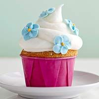 Butter Cakes with Sourcream Frosting