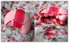 C'est ma fournée !: Encore un macaron révélation : le framboise/anis de Christophe Felder...