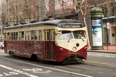 1948 Philadelphia Streetcar running San Francisco Muni F-Line by jay galvin, via Flickr