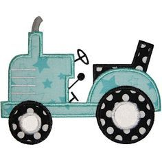 Tractor 2 Applique                                                       …