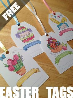 FREE Printable: Easter Tag  http://www.limetreefruits.com/happy-easter/    #free #printable #easter