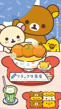 Quickly put small fresh Rilakkuma Wallpaper for your phone now! Sanrio Wallpaper, Kawaii Wallpaper, Japanese Characters, Cute Characters, Pusheen, Kawaii Drawings, Cute Drawings, Cute Images, Cute Pictures
