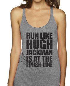 Run Like Hugh Jackman Is That Finish Line Racerbacks