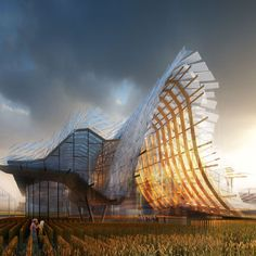 China's pavilion for Milan 2015 expo
