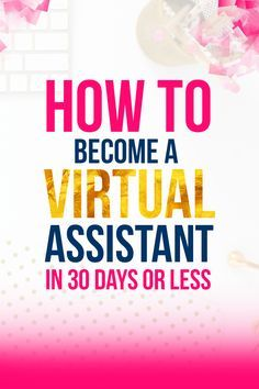 Want to start an online business and learn how you can make money from home as a virtual assistant? This is the exact course I took when I first started, and after taking action, I was able to make over $800 in my first month! With an increasing demand for VA's, this is the perfect time to start your VA business and make money with your skills. Click through to learn how you can start your virtual assistant journey today! #aff