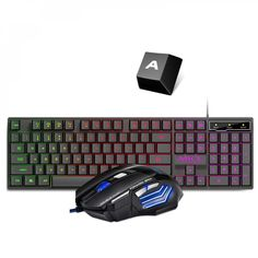 Wired Gaming Keyboard and Mouse Set Price: $ 22.26 & FREE Shipping #gameaccessories #virtualreality #gamers #simulation #techstyle #gamerlife #xbox #pcgaming #gaminglife #teknokave #gadgetslovers Computer Gadgets, Gaming Computer, Laptop Computers, Computer Mouse, Russian Keyboard, Mouse Color, Keyboard Keys, Pc Mouse