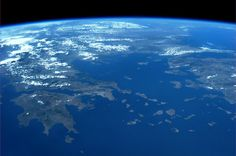 Twitter / AstroKarenN: The Aegean Sea. August 20. ...