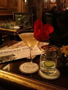 Hemingway Bar at Hotel Ritz, Paris By Robin Romans