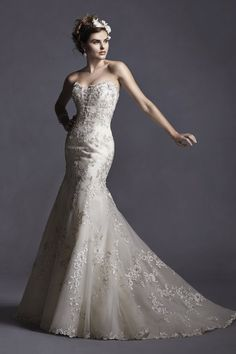 Wedding dress by Sottero and Midgley - Style Maddalena