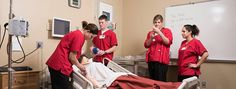 Centro de Enfermagem para Simulação e Educação Interprofissional. Laboratório de simulação da Universidade de Dakota do Sul.