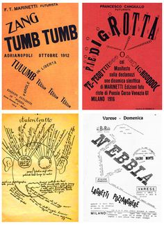 """Zang Tumb Tumb"" is a sound poem written by Filippo Marinetti. It is an account of the Battle of Adrianople."