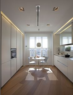 See your space in high quality with new furniture or new materials like counter tops or flooring Diy Kitchen Storage, Kitchen Decor, Kitchen Modern, Bedroom Decor On A Budget, Küchen Design, Design Trends, New Furniture, Kitchen Lighting, Kitchen Countertops