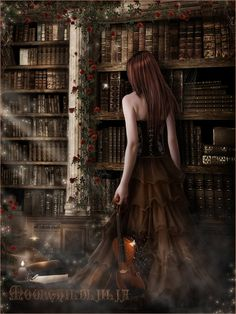 My Lost World... by moonchild-ljilja.deviantart.com    This is so utterly beautiful. i could spend hours admiring it.