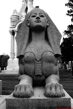 Veile Sphinx | Mark Williams | Flickr Egyptian Symbols, Ancient Egyptian Art, Sphinx Tattoo, Egypt Concept Art, Monster Co, Museum Poster, Roman Sculpture, Mythological Creatures, Tattoo Ideas
